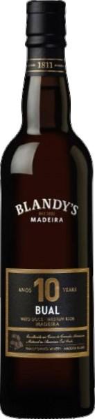Blandy´s Bual 10 Years Old Medium Rich Madeira