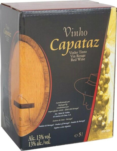 Capataz Vinho Tinto Bag in Box 5 Liter