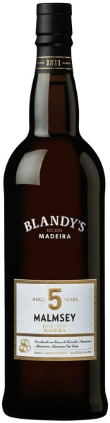 Blandys Madeira Malmsey Rich - 5 year old