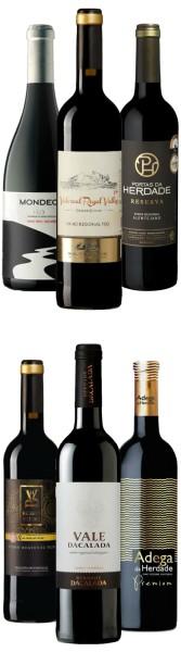 Portugals Vielfalt im Paket - Weine unter 10 Euro