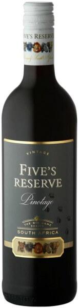 Van Loveren Fives Reserve Pinotage