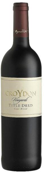 Croydon Title Deed Cape Blend
